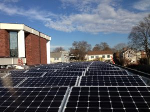 Solar installs on Melrose, MA churches