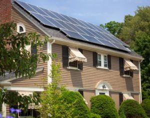 Residential solar installation Melrose, MA