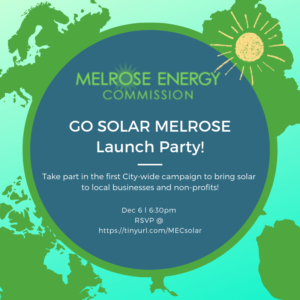 Go Solar Melrose Launch Party December 6 2018